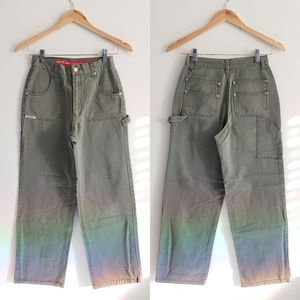 Vintage Revolt Green Carpenter Pants